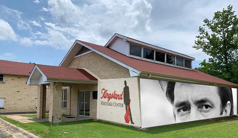 Mock-up of the Kingsland Heritage Center exterior.